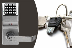 Locksmith Services commercial keypad door lock